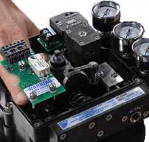 Pneumatic and Electro-Pneumatic Positioner Options