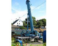 Hydraulics-crane